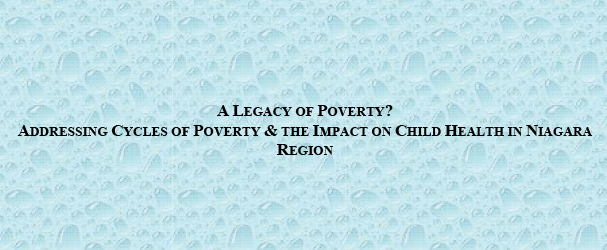 Legacy of Poverty