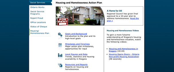 Housing and Homelessness Action Plan